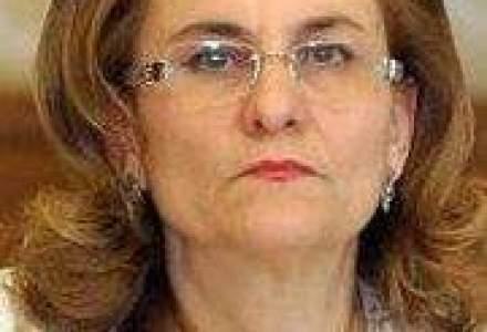 Maria Grapini: Iesirea din recesiune nu are loc fix pe 13 mai. Este o zi cu ghinion pentru Boc