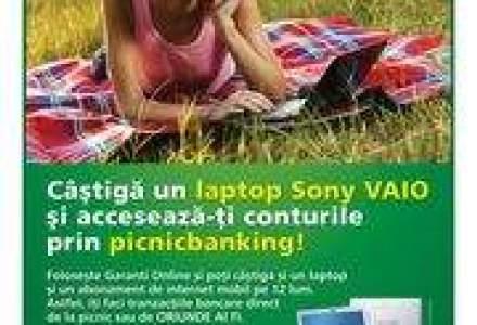 (P) Garanti Bank va propune tranzactii bancare online prin picnicbanking!