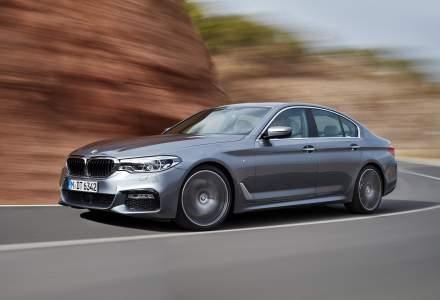 BMW prezinta imagini si informatii cu a saptea generatie Seria 5