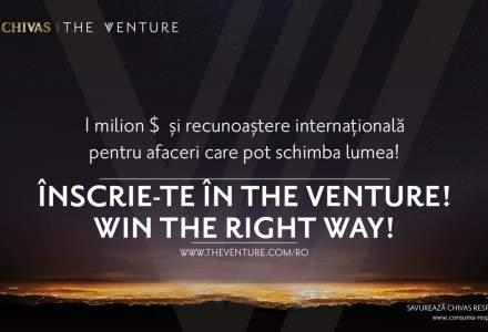 """(P) Apel pentru antreprenoriat cu impact social: Chivas a lansat a doua editie ,,The Venture"""" in Romania"""
