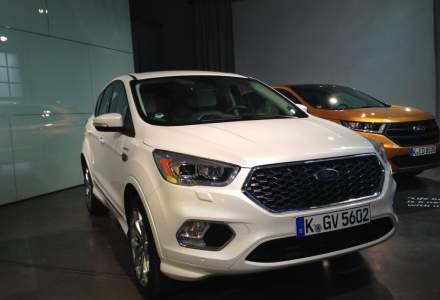 Ford Kuga facelift ajunge in Romania in decembrie. Poate fi comandat Vignale