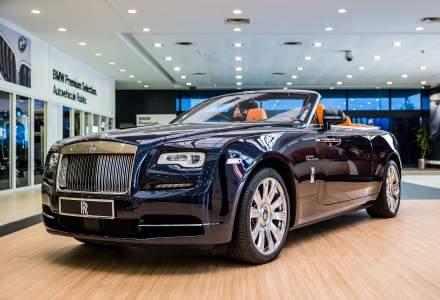 Automobile Bavaria a prezentat decapotabila Rolls-Royce Dawn, model care costa peste 400.000 euro