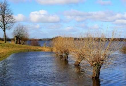 Sase judete sunt sub avertizare cod galben de inundatii