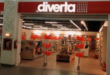 Diverta deschide trei magazine si ajunge la o retea nationala de 26 de unitati