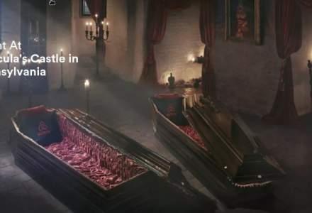 Pe urmele lui Dracula: Airbnb ofera o noapte de cazare in Castelul Bran