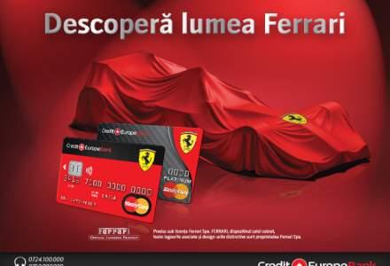 (P) Credit Europe Bank lanseaza Ferrari Card