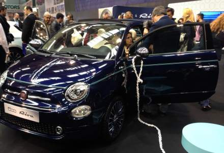 Auto Italia a prezentat modelul Fiat 500 Riva, o editie limitata de 10 unitati pentru Romania