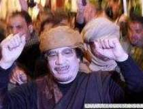 Regimul lui Gaddafi a...