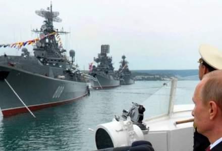 Marea Britanie muta avioane de lupta in Romania si Polonia, Rusia consolideaza Flota la Marea Baltica