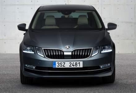 Skoda a prezentat primele imagini cu Octavia facelift sedan si estate