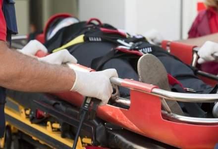 Unul dintre cei doi oameni ai strazii incendiati la Galati a murit la Spitalul Floreasca din Capitala