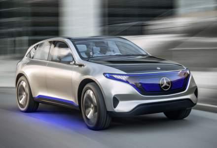 Mercedes-Benz vrea zece modele electrice in gama EQ pana in 2025