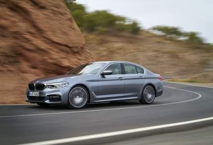 BMW Seria 5 va costa intre 49.500 si 62.280 euro cu TVA in Romania. Noul model soseste in primavara 2017