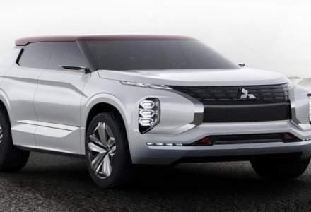 Viitoarele modele Mistubishi vor imprumuta elemente de design de la GT-PHEV Concept