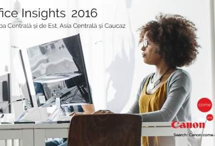 (P) Office Insights Report 2016. Sau, cum se reflecta transformarea digitala in activitatile de birou, in cadrul companiilor