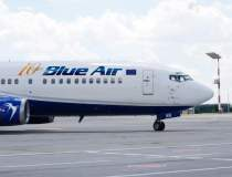 Cluj: Patru zboruri Blue Air...