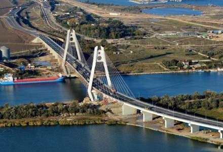 Podul de la Agigea, redeschis traficului cu trei saptamani mai devreme fata de termenul estimat
