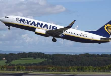Ryanair pune la vanzare bilete de avion cu cinci euro