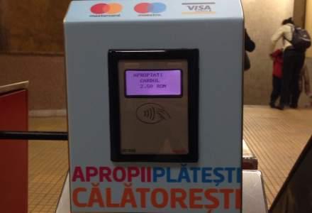 Plata contactless a calatoriilor la metrou, implementata de BCR in toate statiile pana la sfarsitul anului