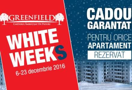(P) GREENFIELD White Weeks - 45 de cadouri la alegere, la rezervarea apartamentelor