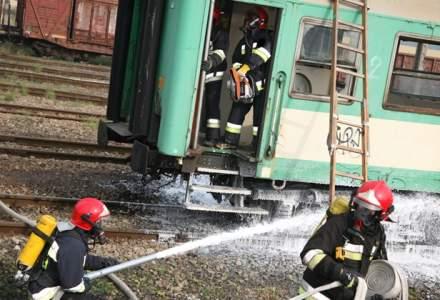 Teroare in Bulgaria: cel putin patru morti si 25 de raniti dupa ce un tren cu propan a deraiat in nord-estul tarii