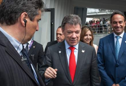Premiul Nobel pentru Pace i-a fost acordat presedintelui columbian Juan Manuel Santos