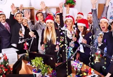 Incep petrecerile corporate: cat costa sa il aduci pe Mos Craciun la birou