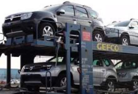 Afla cum isi transporta Dacia automobilele de la Mioveni si cat plateste pentru acestea