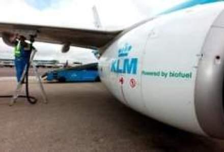 KLM opereaza prima cursa cu pasageri folosind biokerosen