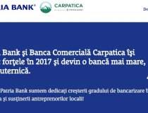 Fuziunea Bancii Carpatica cu...