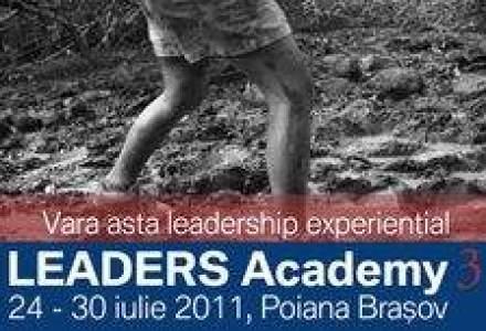 Vrei sa inveti leadership de la un alpinist si un specialist in teatru? Inscrie-te la Leaders Academy