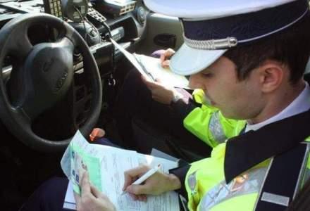 Politistii au retinut 556 de permise de conducere in perioada Craciunului