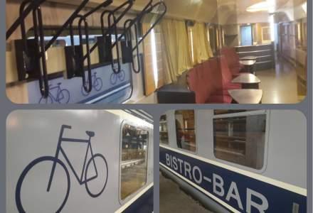 CFR Calatori a pus in circulatie un vagon dedicat transportului de biciclete/schiuri
