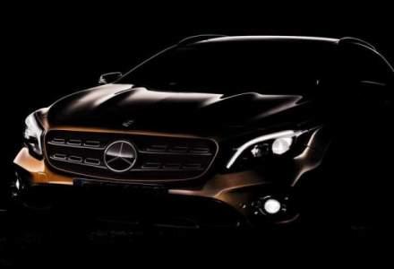 2017 Mercedes-Benz GLA Facelift va fi dezvaluit la Salonul Auto de la Detroit