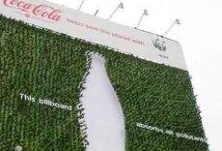 Primul panou publicitar care absoarbe poluarea