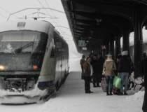 CFR: 93 de trenuri anulate pe...