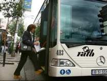 Autobuzele au circulat pe...