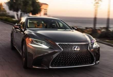 Lexus lanseaza cea de-a cincea generatie LS