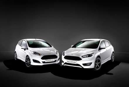 Trei cele mai vandute modele Ford in Romania - unul este vehicul comercial