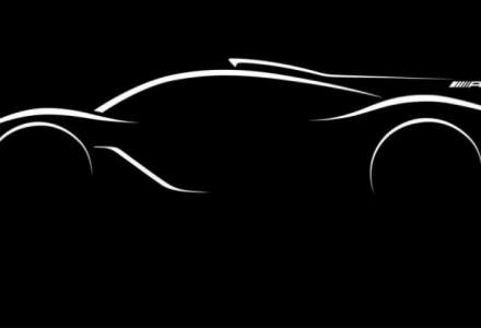 Mercedes-Benz publica prima fotografie cu hypercarul AMG Project One