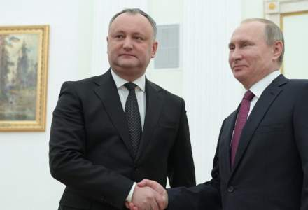 Dodon, despre harta Moldovei istorice, primite de la Putin: Jumatate din teritoriul Romaniei este al Moldovei!