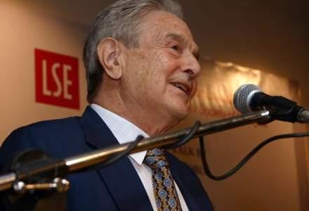 """Soros il critica dur pe Trump la forumul de la Davos: un """"ucenic-dictator"""" care va esua in mandatul sau"""
