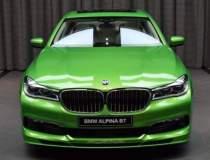 Cat consuma un BMW Alpina B7...