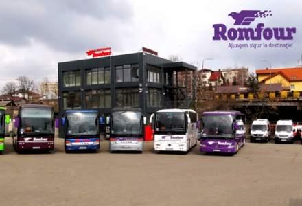 (P) Romfour - o companie de transport persoane cu pasageri mereu multumiti