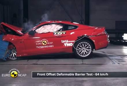 Euro NCAP a testat primele masini din 2017. Un coupe foarte ravnit a primit 2 stele