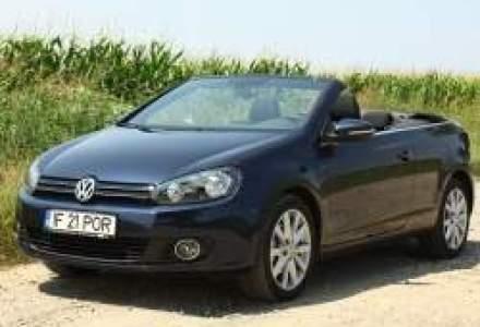 Test Drive Wall-Street: O zi de vara cu VW Golf 6 Cabrio
