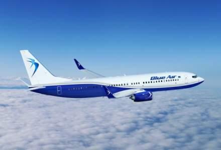 Blue Air a transportat 3,6 milioane de pasageri, mai mult decat TAROM