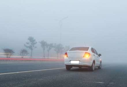 ANM a actualizat atentionarile cod galben de ceata; 12 judete si Capitala, sub avertizare