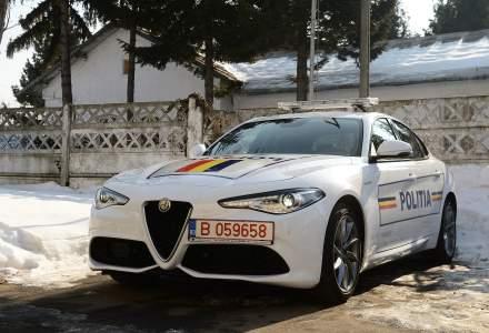 Politia Rutiera a primit pentru un an modelul Alfa Romeo Giulia Veloce 280 CP