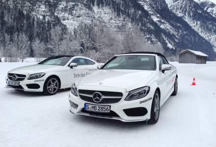 Test drive la -12 grade cu anvelope de iarna Bridgestone si modele Mercedes-Benz